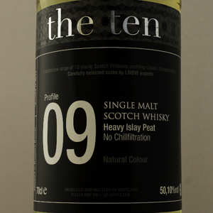 Whisky Ecosse The Ten 09 Heavy Islay Peat 50,1%