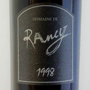 Rivesaltes Ambré Domaine Rancy 1998