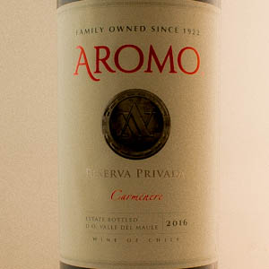 Chili Aromo Carmenere Private Reserve 2016 Rouge