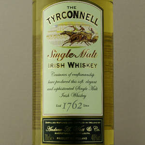 Whiskey Irlande Tyrconnell Single Malt 40%