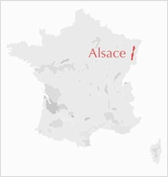 Carte Alsace France