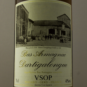 Bas Armagnac Dartigalongue VSOP 40% 70 cl