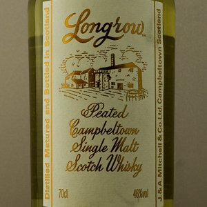 Whisky Ecosse Longrow Single Malt Peated 46%