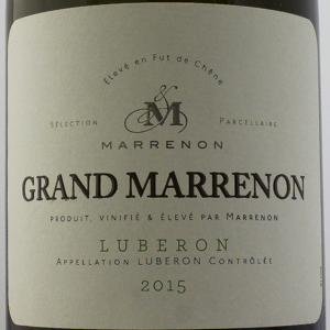 Côtes du Luberon Grand Marrenon 2015 Blanc 75 cl