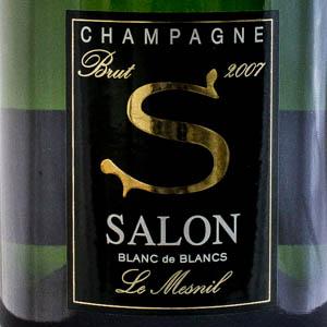 Champagne Salon Blanc de Blancs 2007