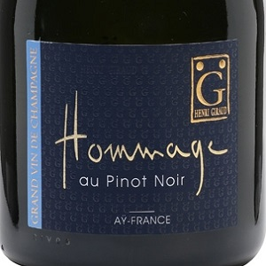 Champagne Giraud Hommage au Pinot Noir