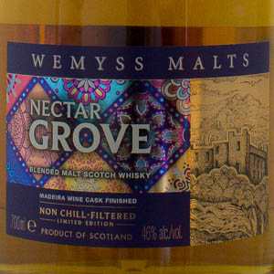 "Blended Whisky ""Nectar Grove"" Wemyss 46°"