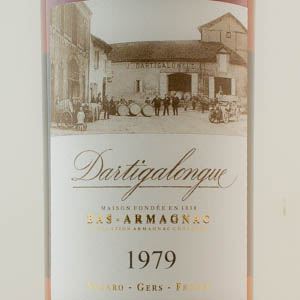 Bas-Armagnac 1979 Dartigalongue 40 %