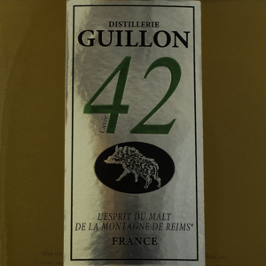 Whisky France Distillerie Guillon Cuvée 42 Single Malt 40%