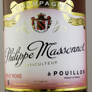 Champagne Philippe Massonnot Brut Rosé