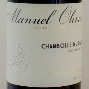Chambolle Musigny Manuel Olivier 2014 Rouge