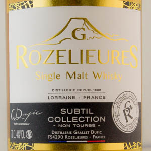 Whisky France Rozelieures Subtil Collection 40%
