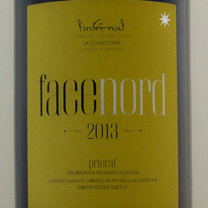 Face Nord Syrah Priorat l'Infernal 2013
