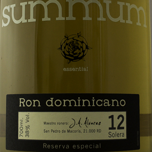 Rhum République Dominicaine Summum Reserva 38%