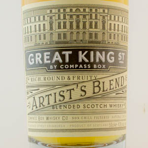 Whisky Ecosse Blended Great King Street by Compass Box